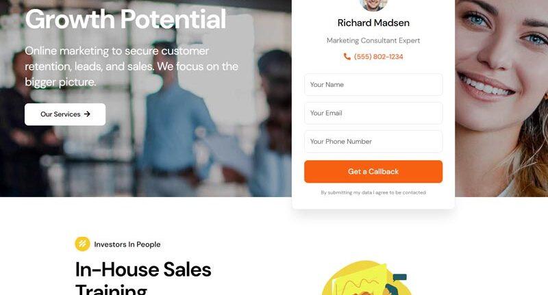 Miami Marketing Company Web Design