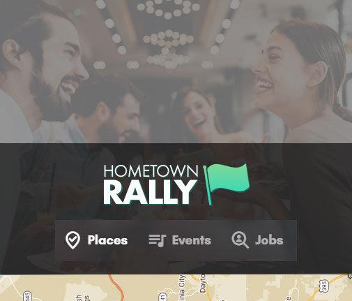 Hometown Rally Web Design