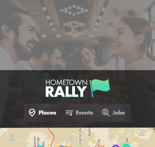 Hometown Rally Web Design